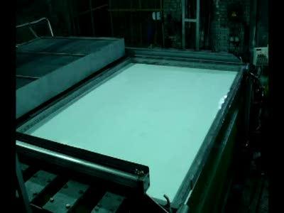 Вакуумная формовка заготовки из полистирола