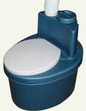 Composting Toilets  MINI ROTOR TURBO with active aerobic processing of biowaste