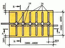 схема коллекторной системы полей подземной фильтрации