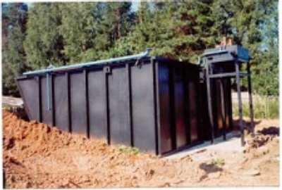 Система биологической очистки для коттеджного поселка