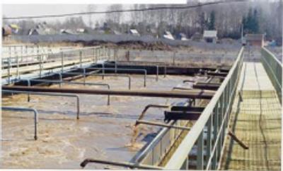 Система очистки сточных вод на несколько сотен человек