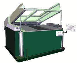 the vacuum forming machine